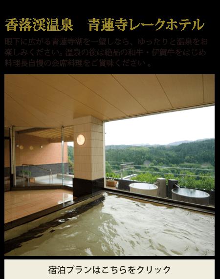 香落渓温泉 青蓮寺レークホテル
